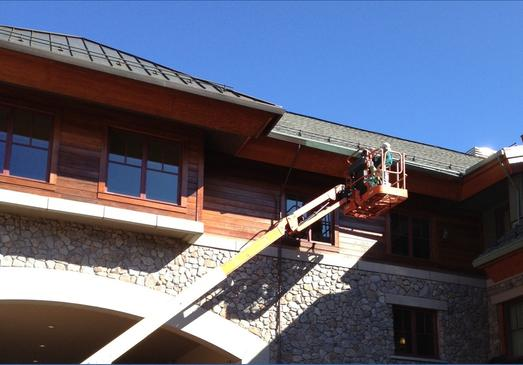South Shore Gutter installation